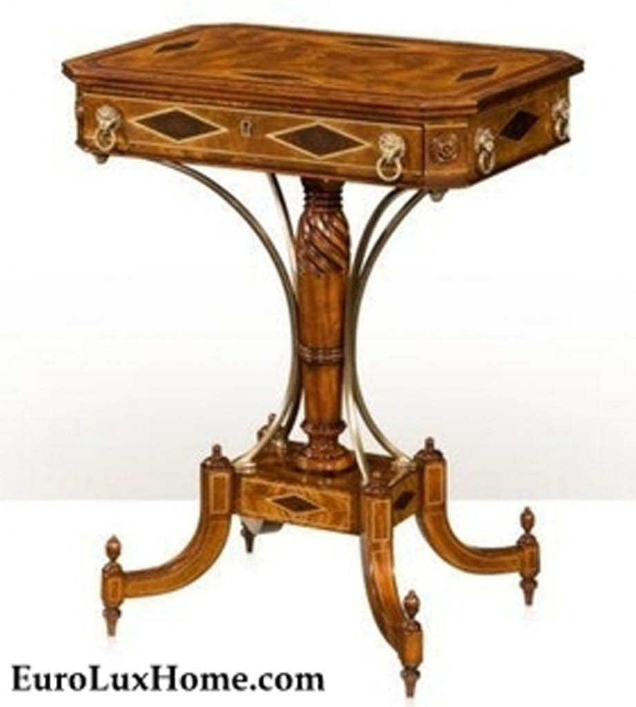 Theodore Alexander Lion Regency Table