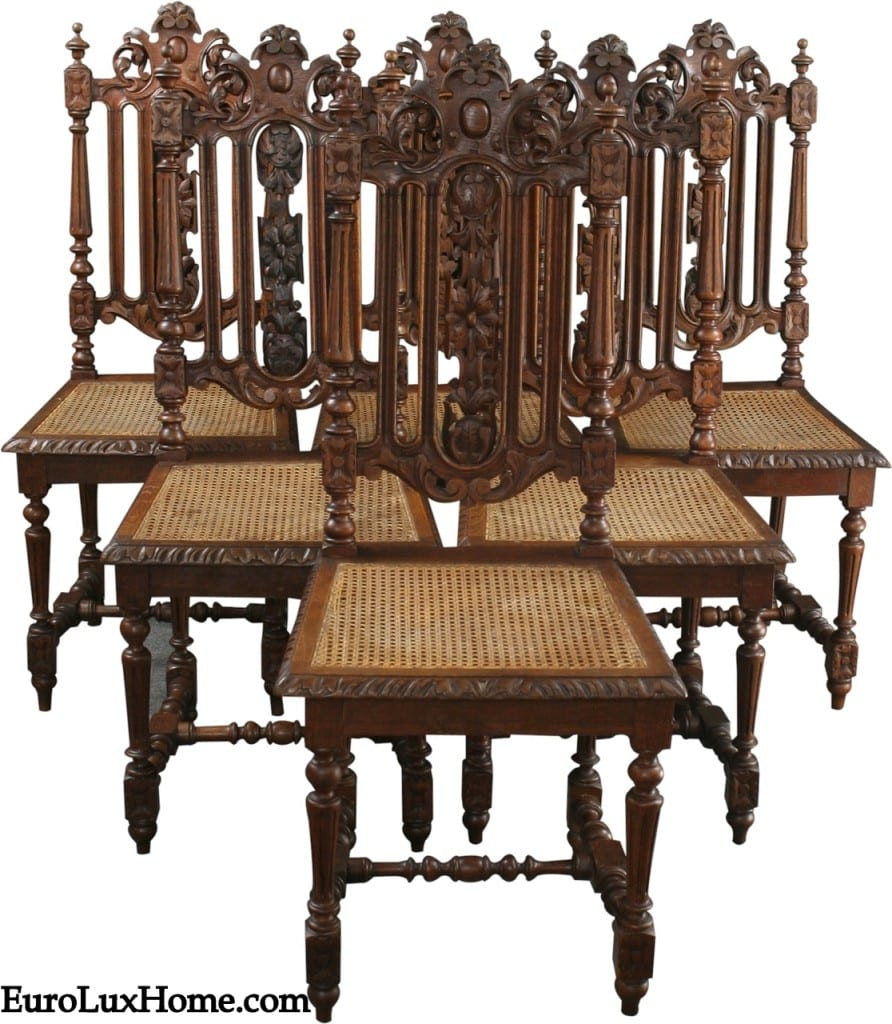 Antique French Hunting Chairs 1880 16-31