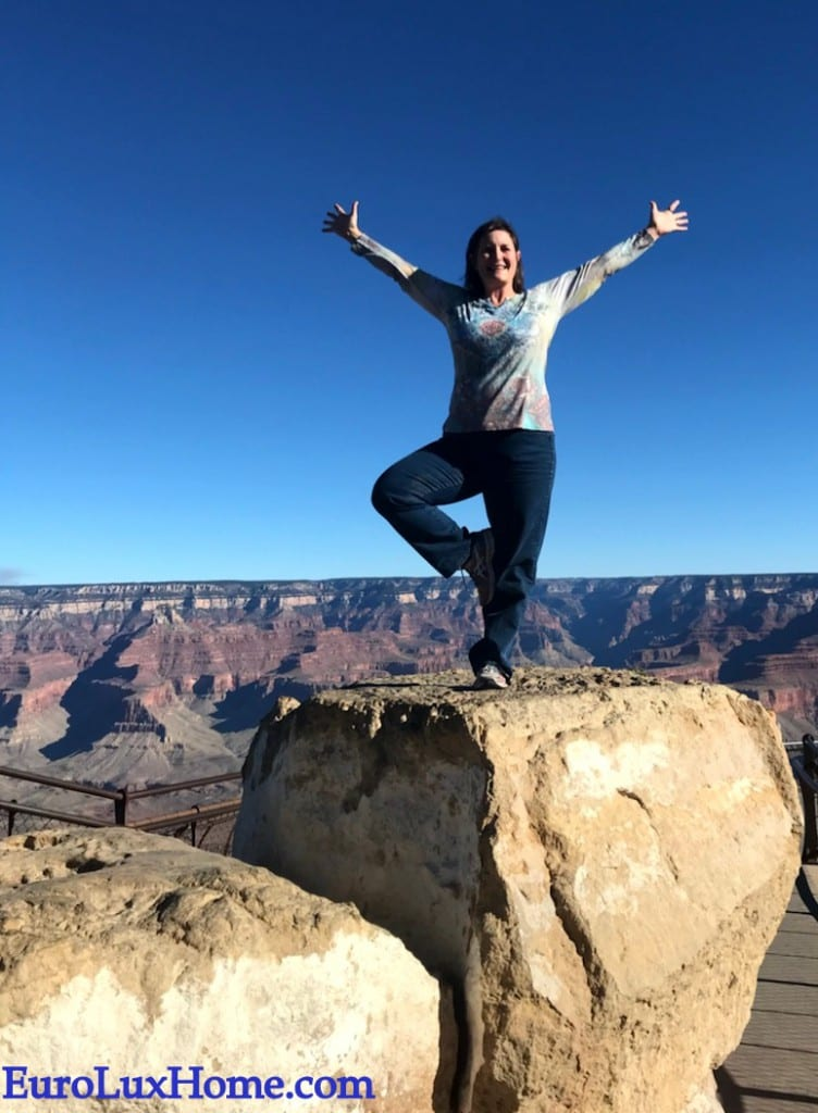 Yoga at the Grand Canyon