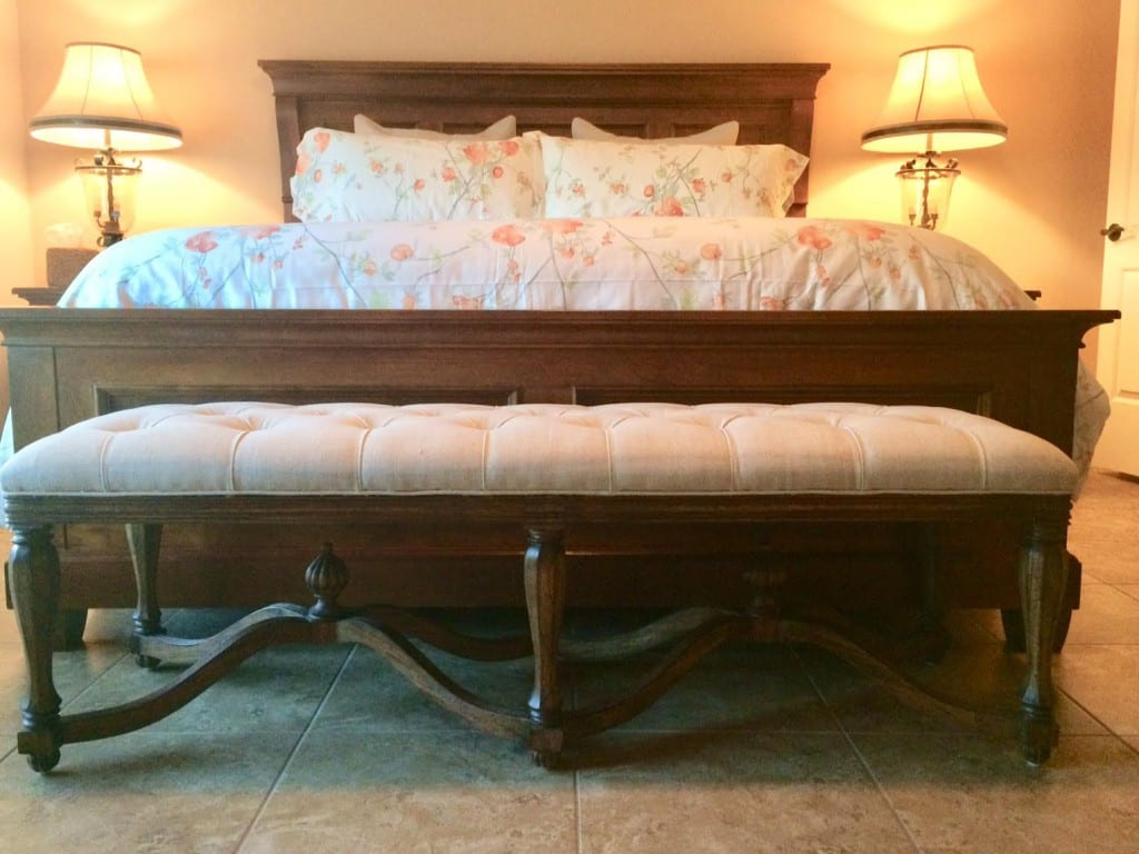 King Henry Bed Bench