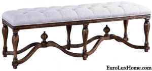King Henry Bed Bench BG-362