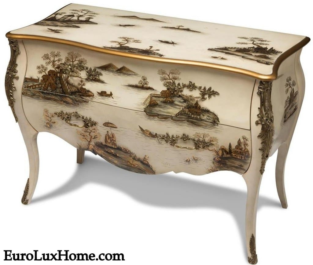 Scarborough House Chinoiserie Chest of Drawers SH-468