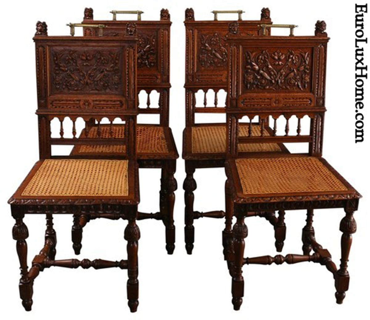 Antique French Renaissance Dining Chairs