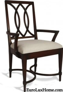 Alden Parkes Transitional Dining Chair