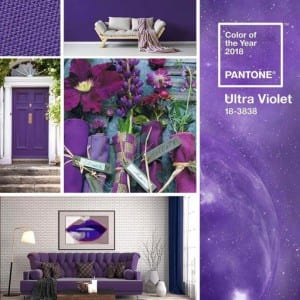 Pantone Ultra Violet Color of the Year
