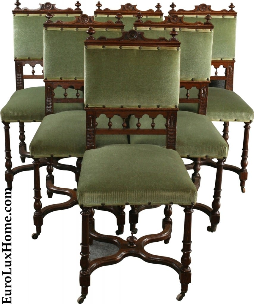 antique Dining chairs flemish