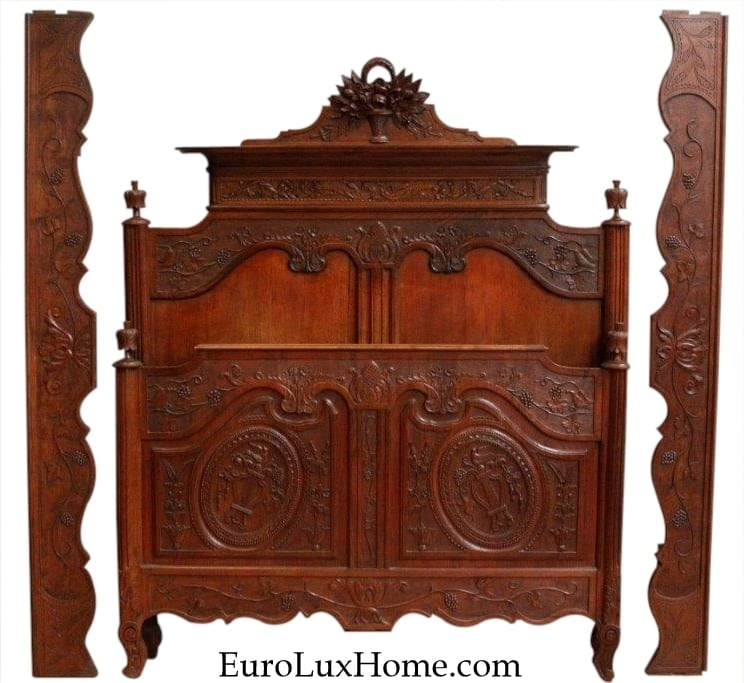 Normandy Antique French bed