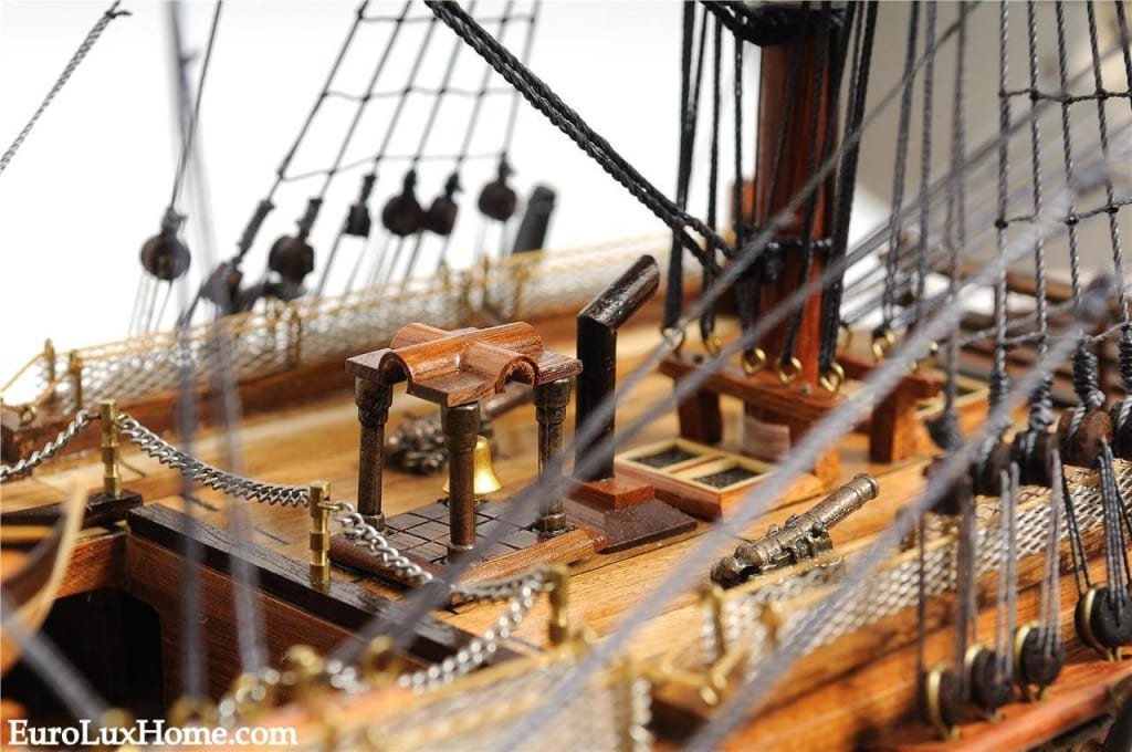 HMS VIctory Close Up Model Ship