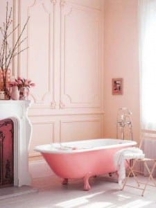 Pink Bathroom romantic