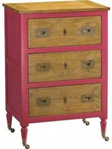 Pink Night Stand French Heritage