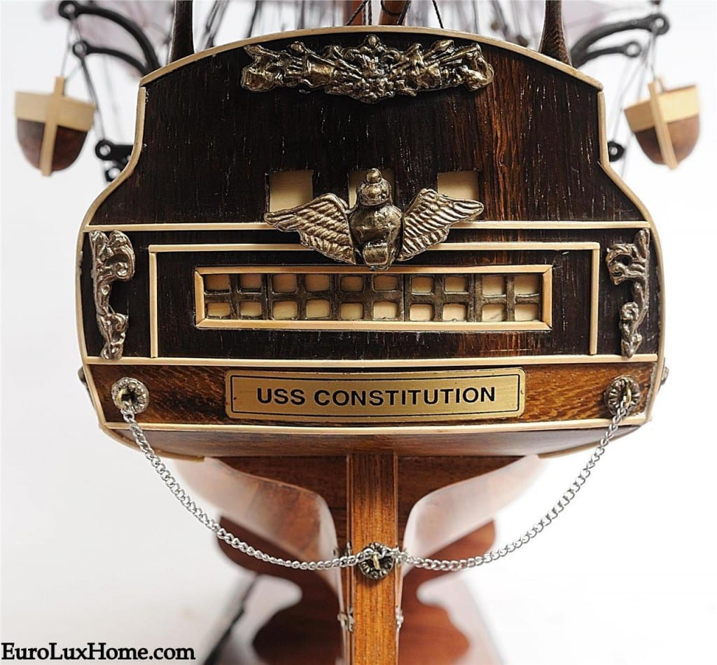 Uss Constitution Model Ship Close Up