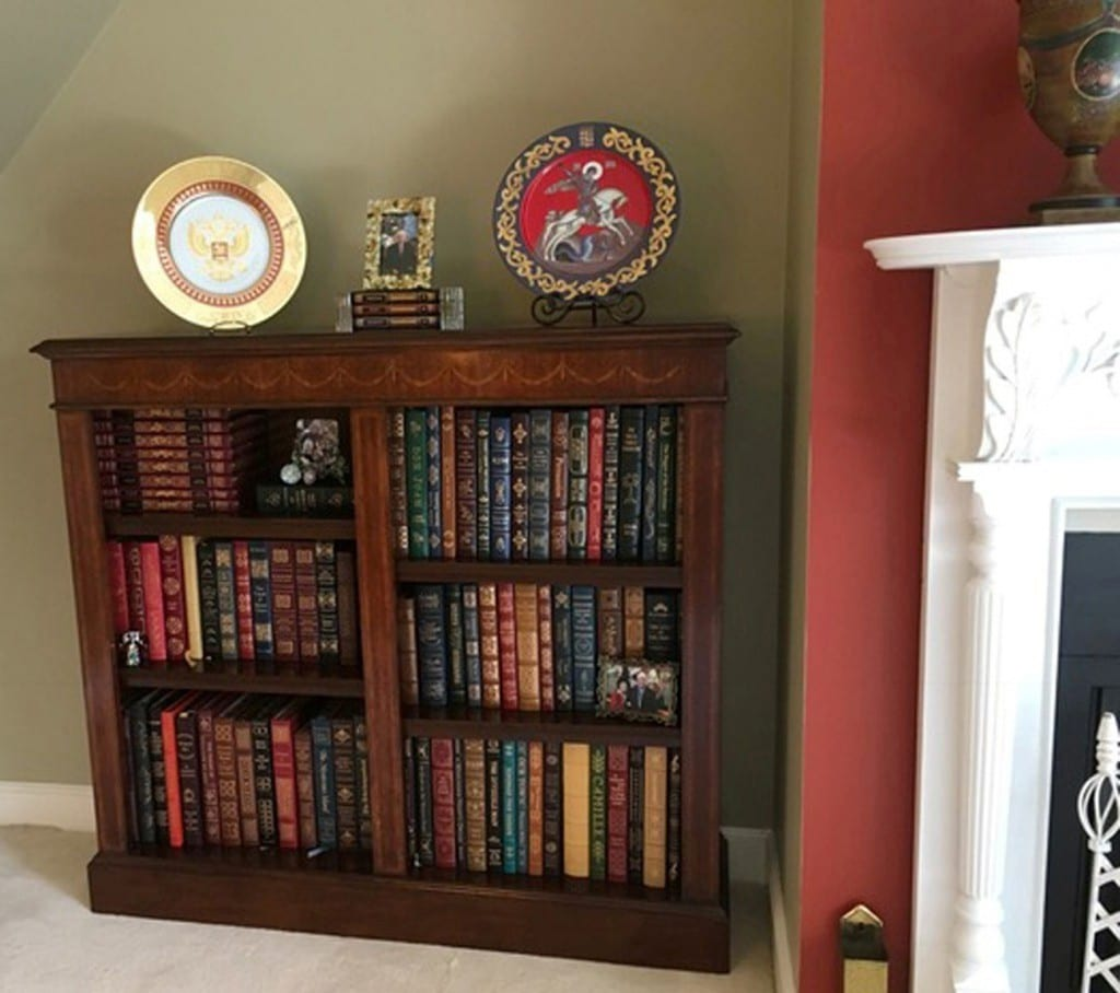 Scarborough House custome made bookcase