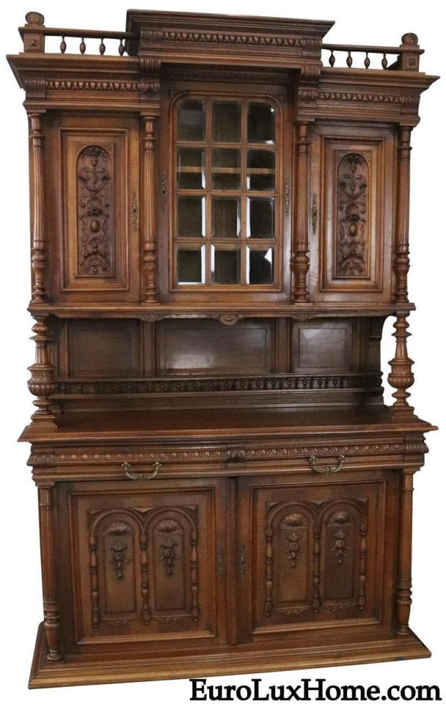 Antique French Buffet Henry II Renaissance Buffet - What Is The Renaissance Henry II Style Of Antique Furniture