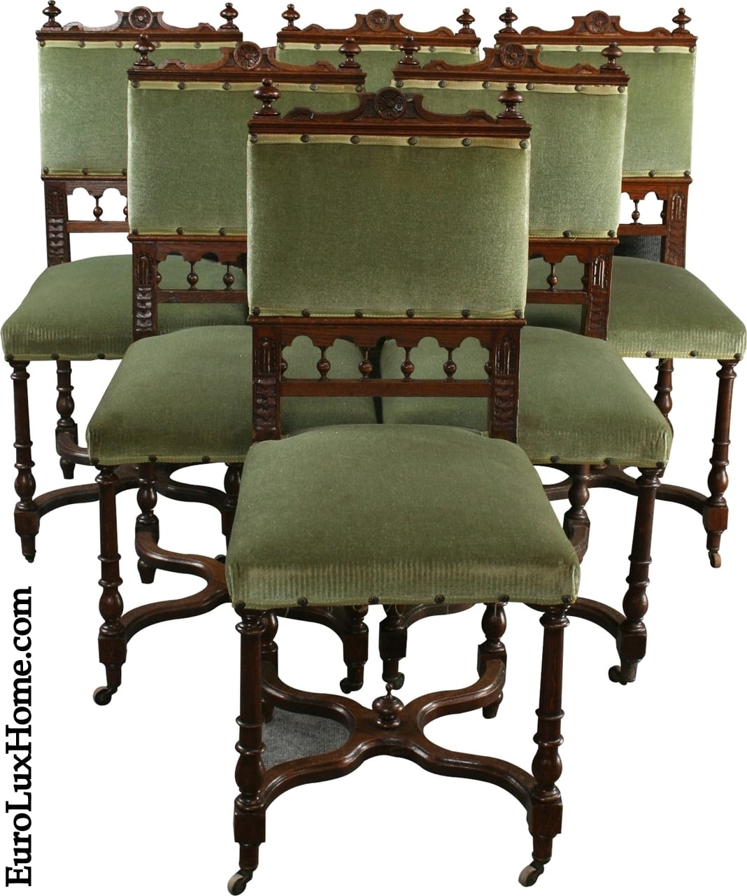 Antique Henry II Dining Chairs