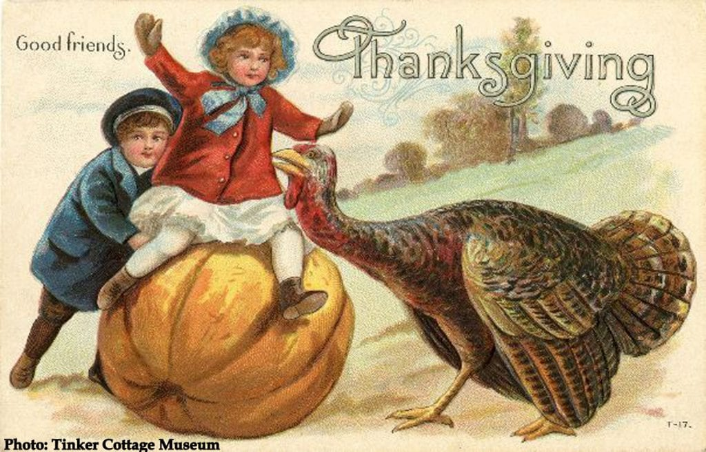 Victorian Thanksgiving card