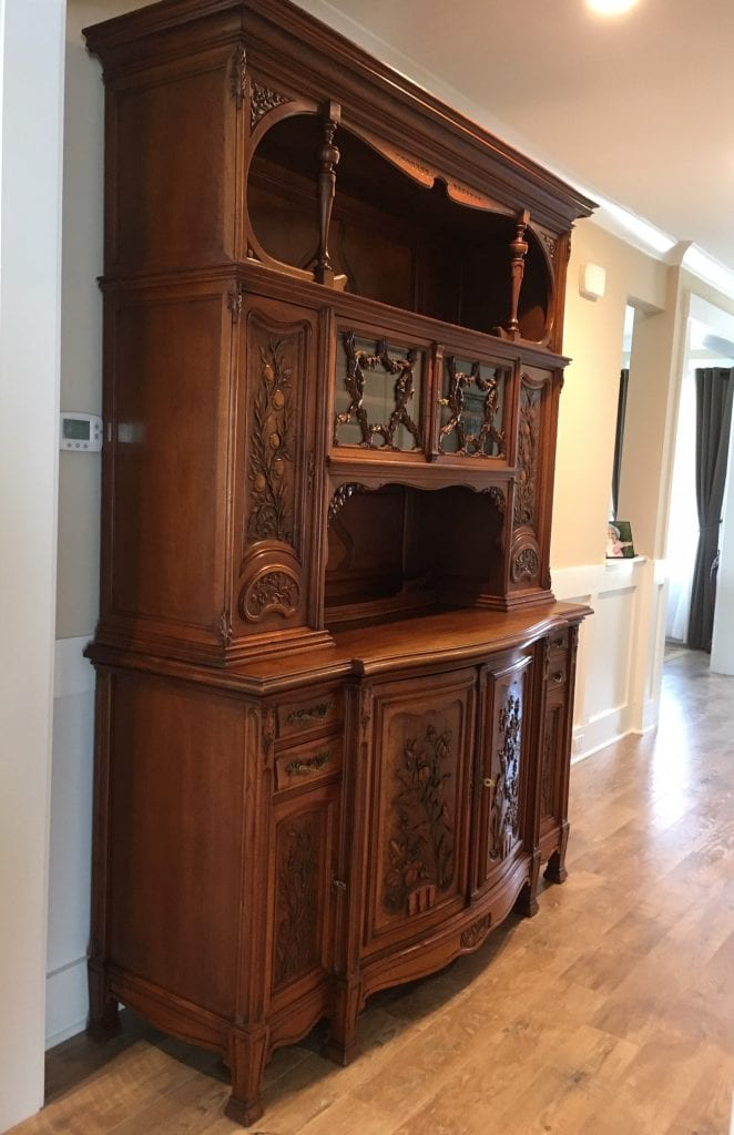 French antique Art Nouveau Buffet