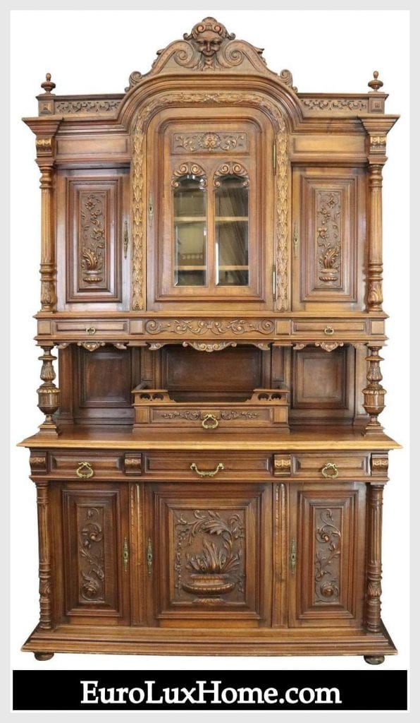 Antique French Henry II Zephyr Buffet