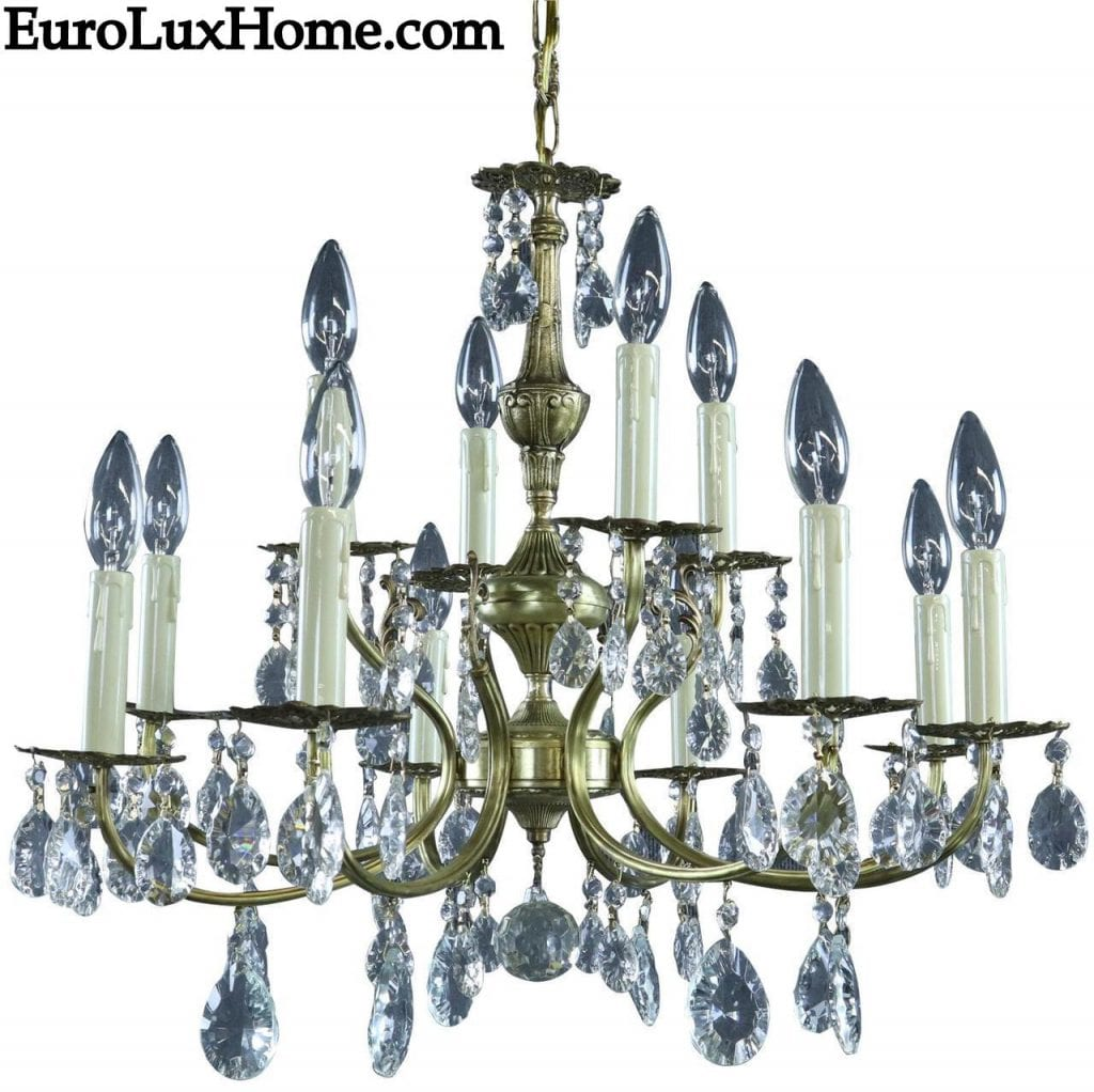 Vintage French Rococo Chandelier