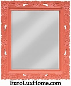 Trade Winds Coral Wall Mirror