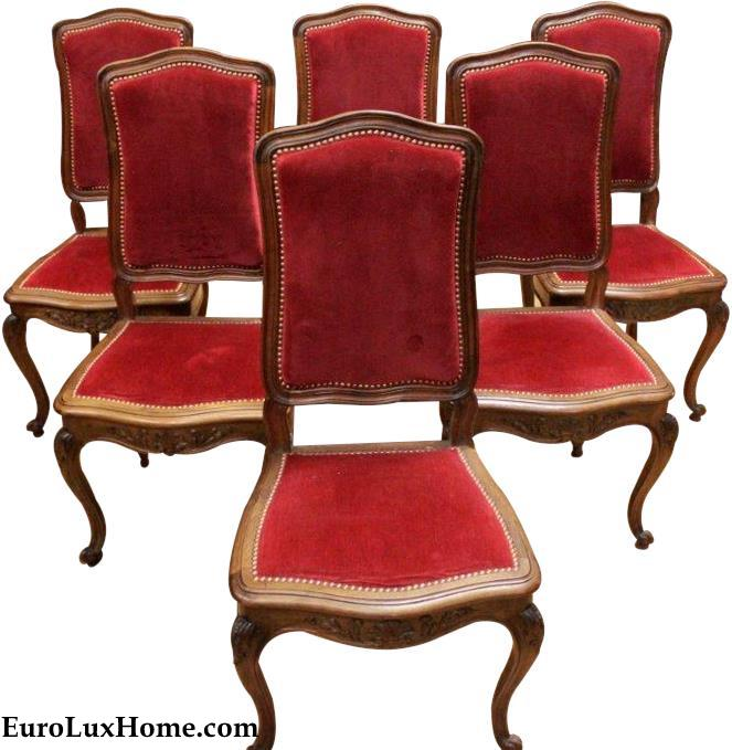 1920 Rococo French Chairs