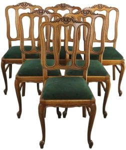 Louis XV Vintage French Rococo Chairs