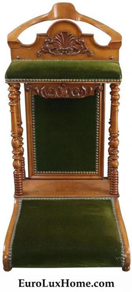 Antique French Prie-Dieu for sale at EuroLuxHome.com
