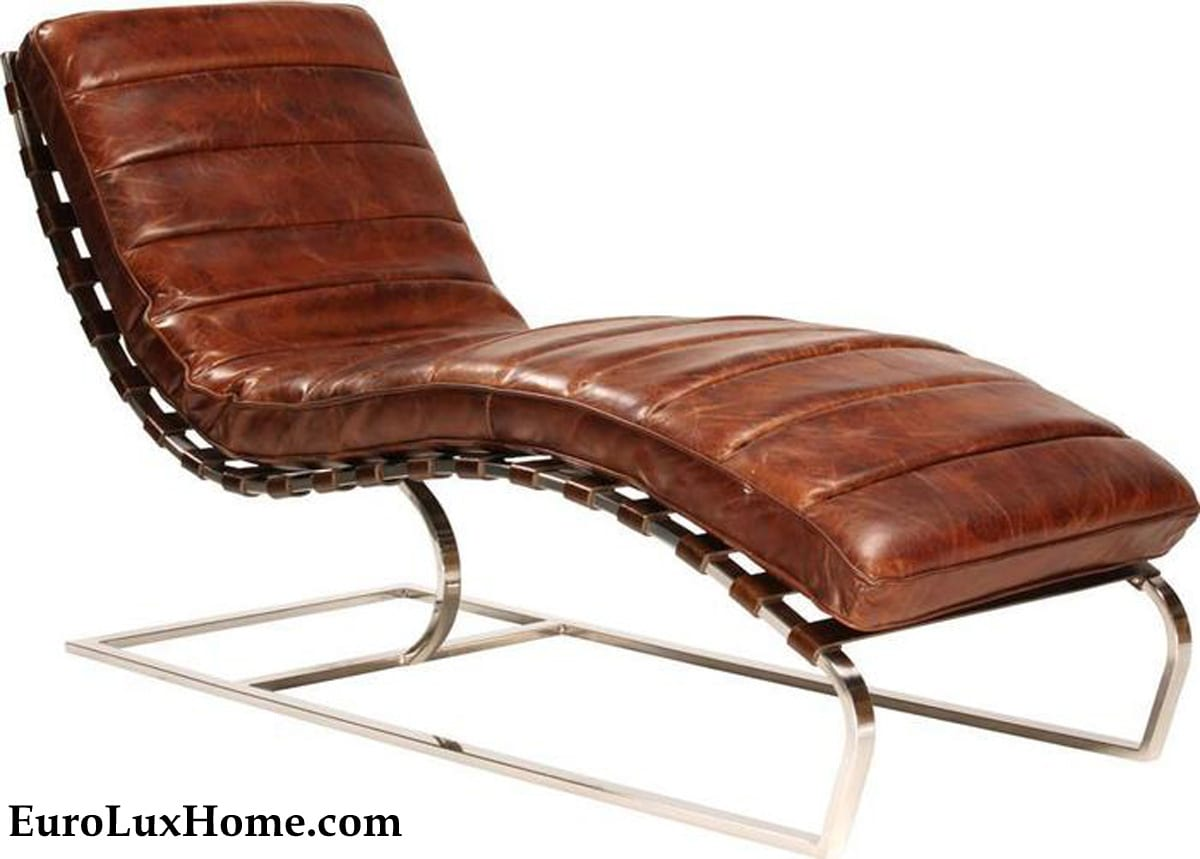Dovetail Chaise Longue Mid Mod