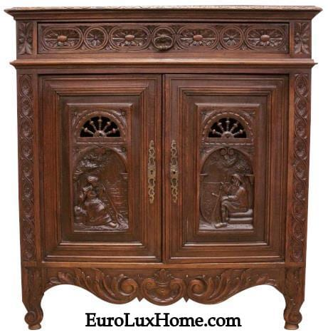 Antique Brittany cabinet
