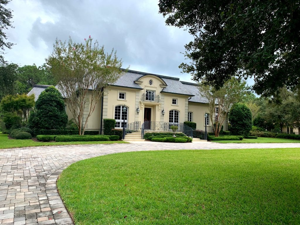 Chateau style home in Florida