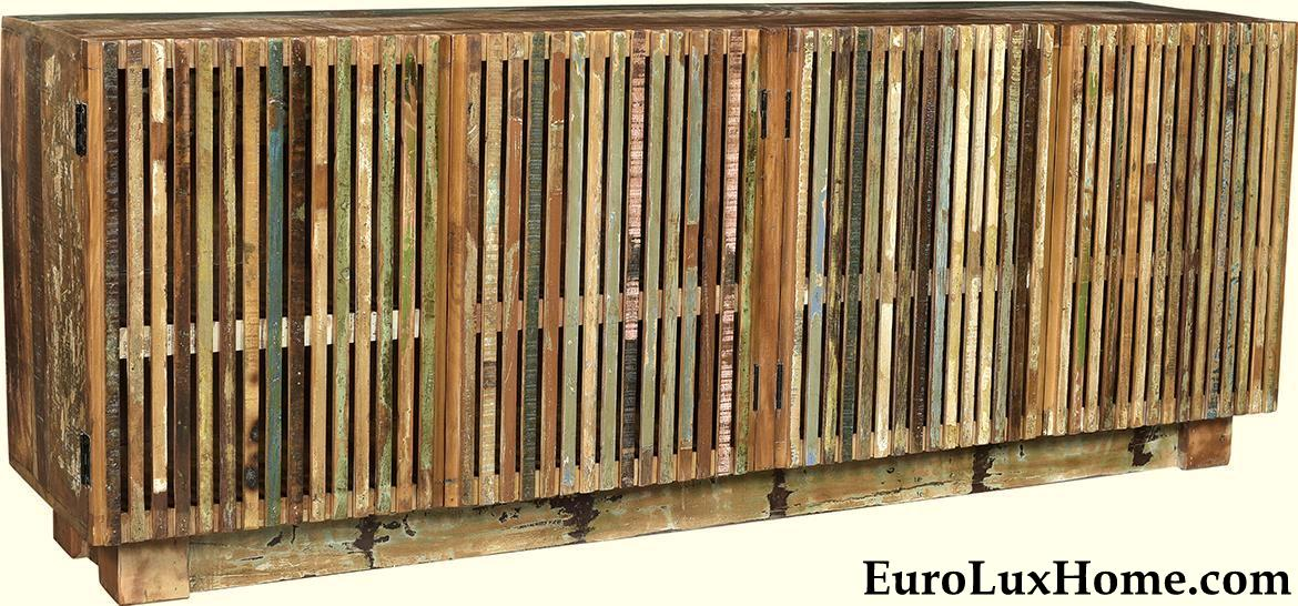 Dovetail Furniture Reclaimed Wood Sideboard